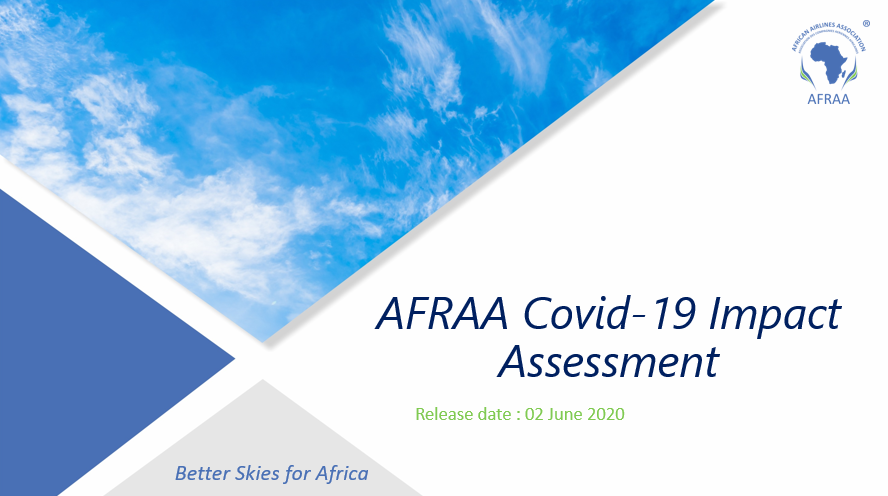 Press Release: AFRAA releases COVID 19 Impact Assessment on African Airlines